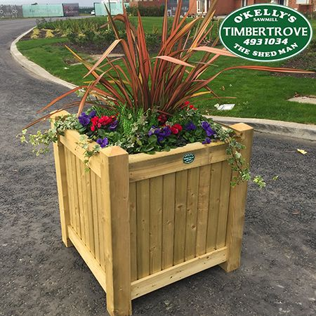 Emerald Planter Box