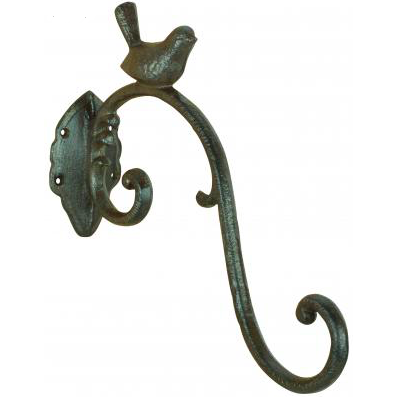 Hook with Bird Decoration
