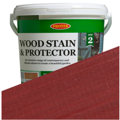 Protek Wood Stain & Protector Cranberry Crush