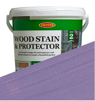 Protek Wood Stain & Protector Lilac