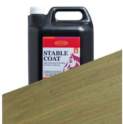 Stable Coat Pale Green