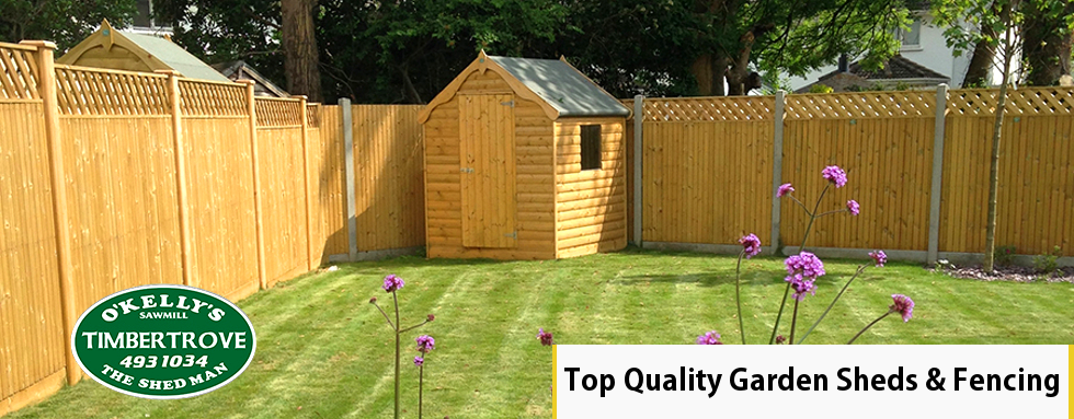 Timbertrove Garden Sheds and Garden Fencing - Wooden Sheds & Wooden Fences