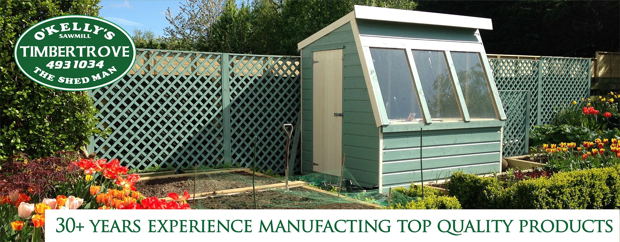 Grow Your Own Potting Shed Timbertrove